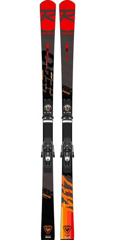 ROSSIGNOL Hero Master R22 + fix Spx 12 /Rkr /Black Icon