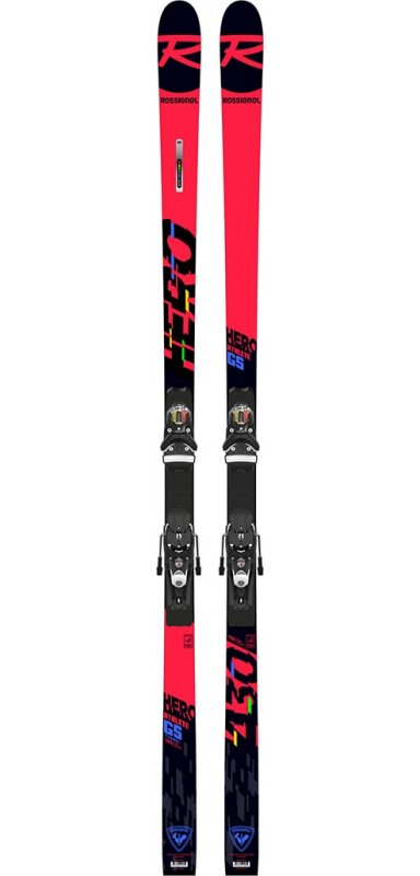 ROSSIGNOL Hero Athlete Gs R22 + fix Spx 12 Rkr Black Icon
